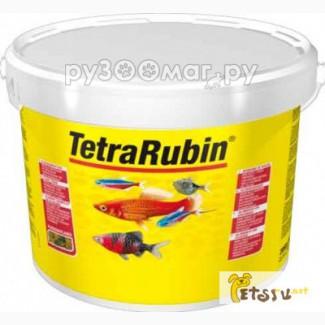 Tetra Rubin корм в хлопьях для улучшения окраса всех видов рыб 10 л (ведро), Ростов-на-Дон