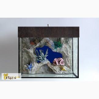 Декоративный, 3D фон для аквариума в Череповце