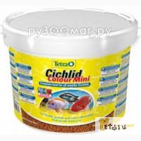 Tetra Cichlid Colour Mini корм для всех видов цихлид 10 л (ведро), Ростов-на-Дону