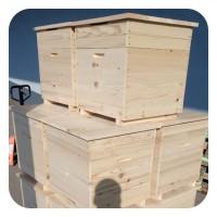 Улей для пчел на 12 рамок, однокорпусной, на теплый или холодный занос