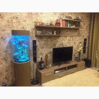 Продам потрясающий цилиндрический аквариум