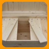 Ульи лежаки с деревянными потолочинами (брусочками). От 12 до 36 ти рамок в улье