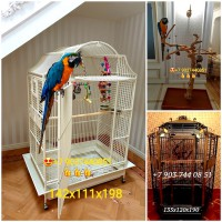 Эксклюзивные клетки, насесты для попугаев - производство Чехия