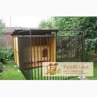 Вольер (большая клетка) для собак 2,5х3м в Чите