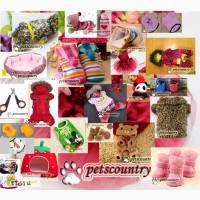 Одежда, аксессуары, спальные места/ переноски, украшения и мн. другое для животных