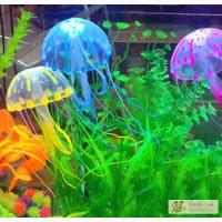Медуза для аквариума силиконовая в Краснодаре