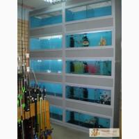 Аквариумные стойки и аквариумы, тумбы под аквариум
