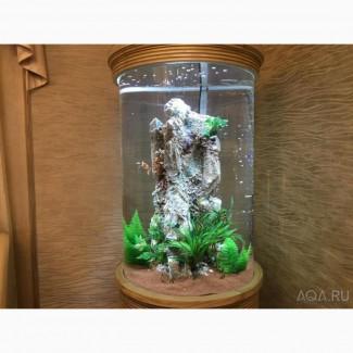 Шикарный аквариум Marvelous с большим цилиндром