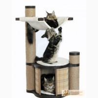 Комплексы-когтеточки и домики для кошек в Омске