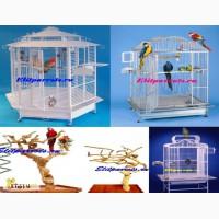 Клетки, насесты для попугаев - производство Чехия