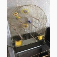 Клетка для попугаев б/у