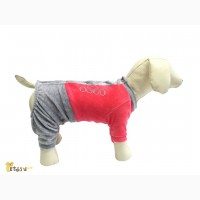 Спортивный костюм из велюра для собак OSSO