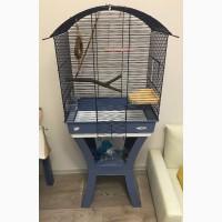 Клетка для попугая Имак (Calla, iMac) с кормами и игрушками