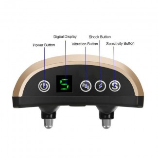 Звуко-вибро-электроимпульсный ошейник антилай WT-772A