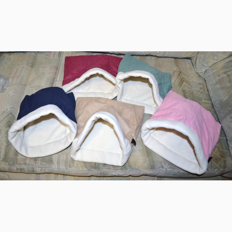 Фото 11. Спальные мешочки большие (цвета на выбор) для ежей и морских свинок